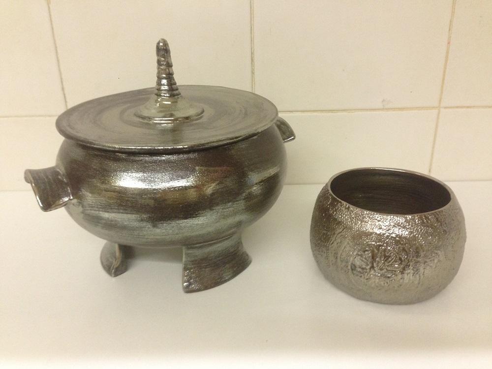 soupière et bol en céramique